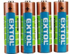 EXTOL 42011 Baterie tužková AA 1,5V (4ks/bal.) LR6/4-Baterie tužková AA 1,5V (4ks/bal.)