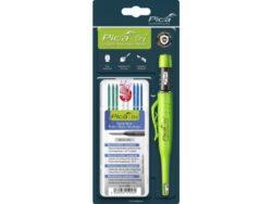 PICA MARKER 30404 Tužka automatická 3030 + náplně zelená, bílá, modrá-Tužka automatická 3030 + náplně zelená, bílá, modrá